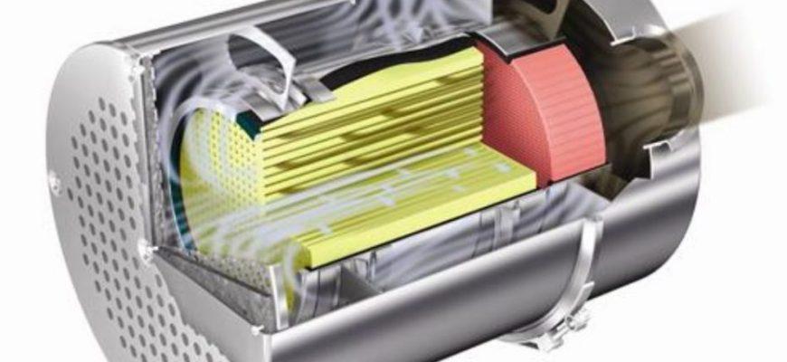 filtro de partículas Diesel