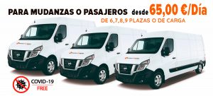 imagen para el alquiler de las furgonetas baratas